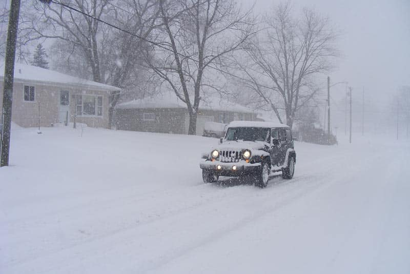 4 Safety Tips For Winter Driving
