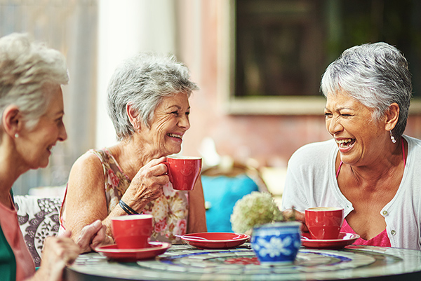 Staying Social is the Key to Healthy Aging