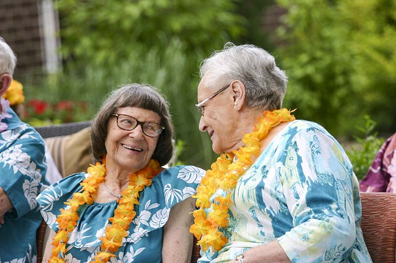Two Seniors Enjoying Life at The Avenues Crofton Park